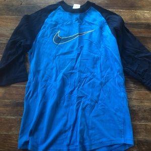 Boys 3/4 sleeve Nike Top
